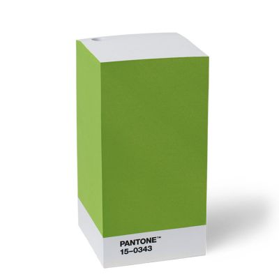 Pantone 3M Sticky Note Pad - Green 15-0343