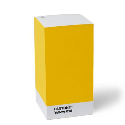 Pantone 3M Sticky Note Pad - Yellow 012