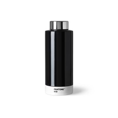 Pantone Steel Drinking Bottle - Black 419
