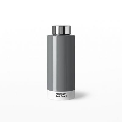 Pantone Steel Drinking Bottle - Cool Grey 9
