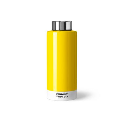 Pantone Steel Drinking Bottle - Yellow 012
