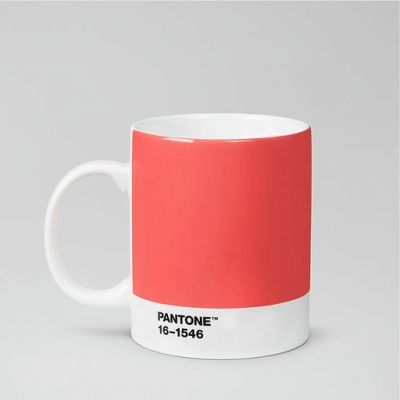 Pantone Mug - Colour of the Year 2019, 16-1546 Living Coral