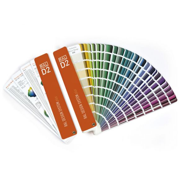 Ral Karte: RAL D2 Design Plus Colour Chart