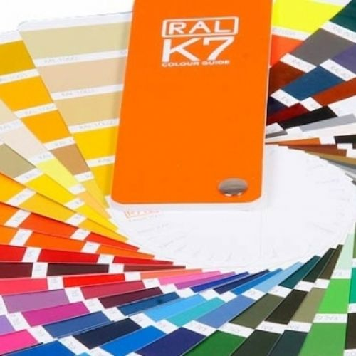 RAL K7 Classic Colour Chart