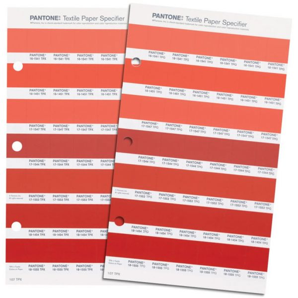 Pantone Fashion, Home + Interiors Colour Specifier Replacement Pages