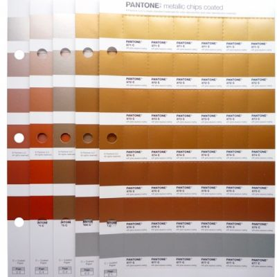 Pantone Metallics Chips Replacement Pages