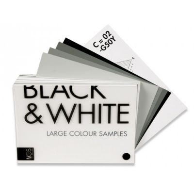 NCS Black & White Colours