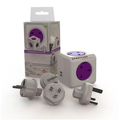Powercube Rewireable USB plus Travelplugs