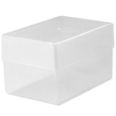 Business Card Boxes Double Size - Transparent