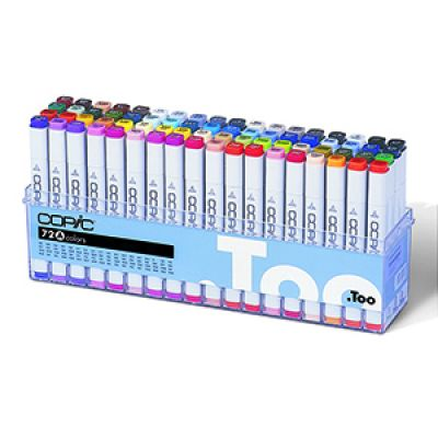 Copic Classic Marker 72 Colour Set 1