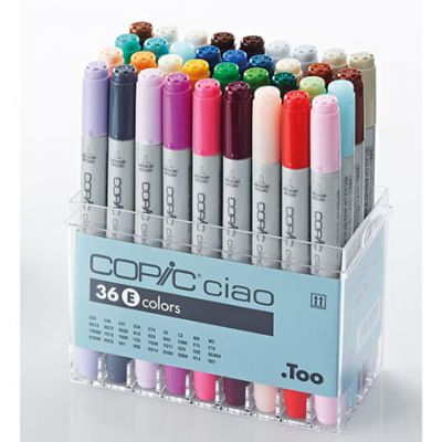 Copic Ciao 36 Colour Set E