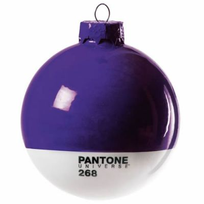Pantone Christmas Bauble - Purple 268