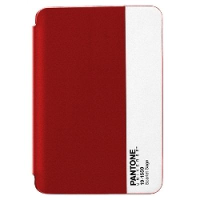 Pantone iPad Mini Bookcase - Red