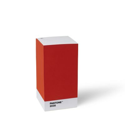 Pantone Note Pad - Red 2035