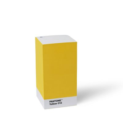 Pantone Note Pad - Yellow 012
