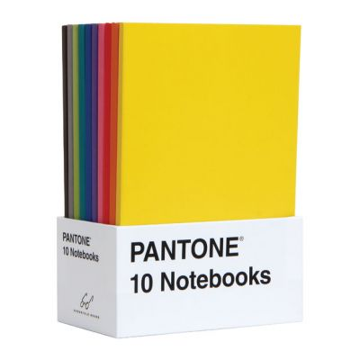 10 Pantone Mini Notebooks