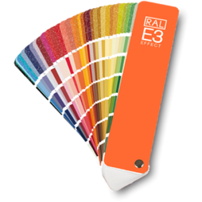 RAL E3 Effect Colour Chart