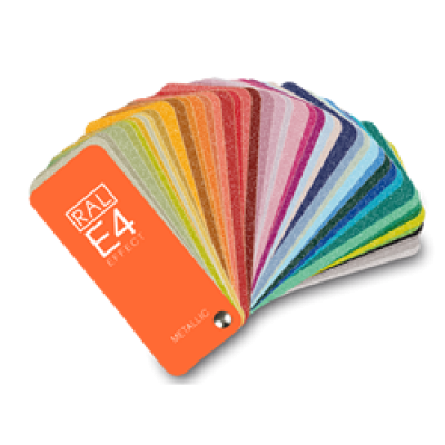 RAL E4 Effect Colour Chart