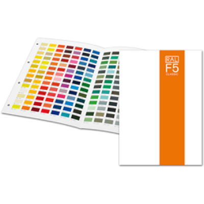 RAL F5 Classic Colour Chart