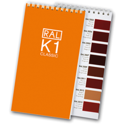 RAL K1 Classic Colour Chart