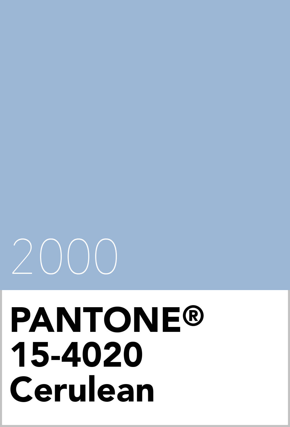 Pantone Colour Of The Year 2000