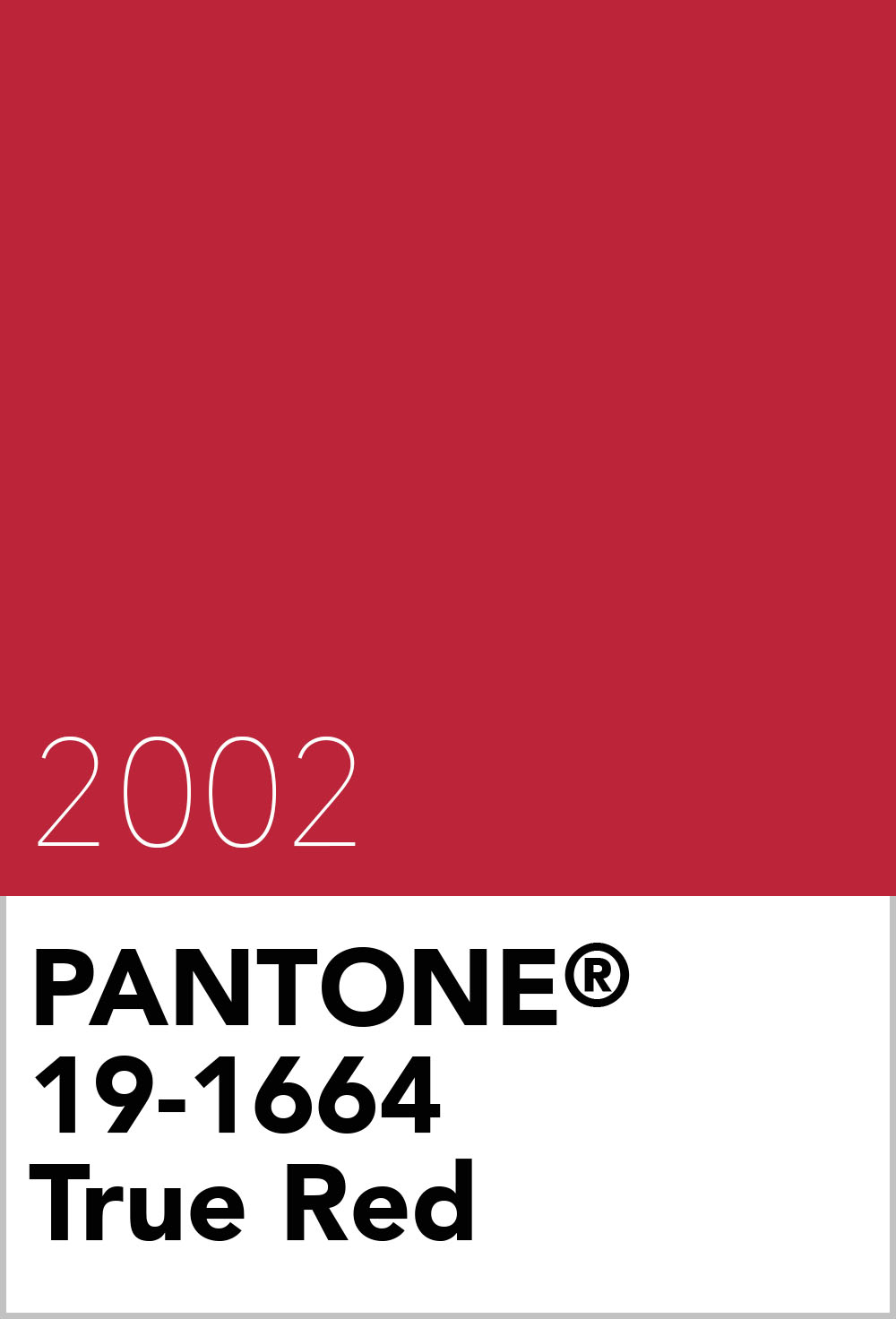 pantone colour of the year 2002