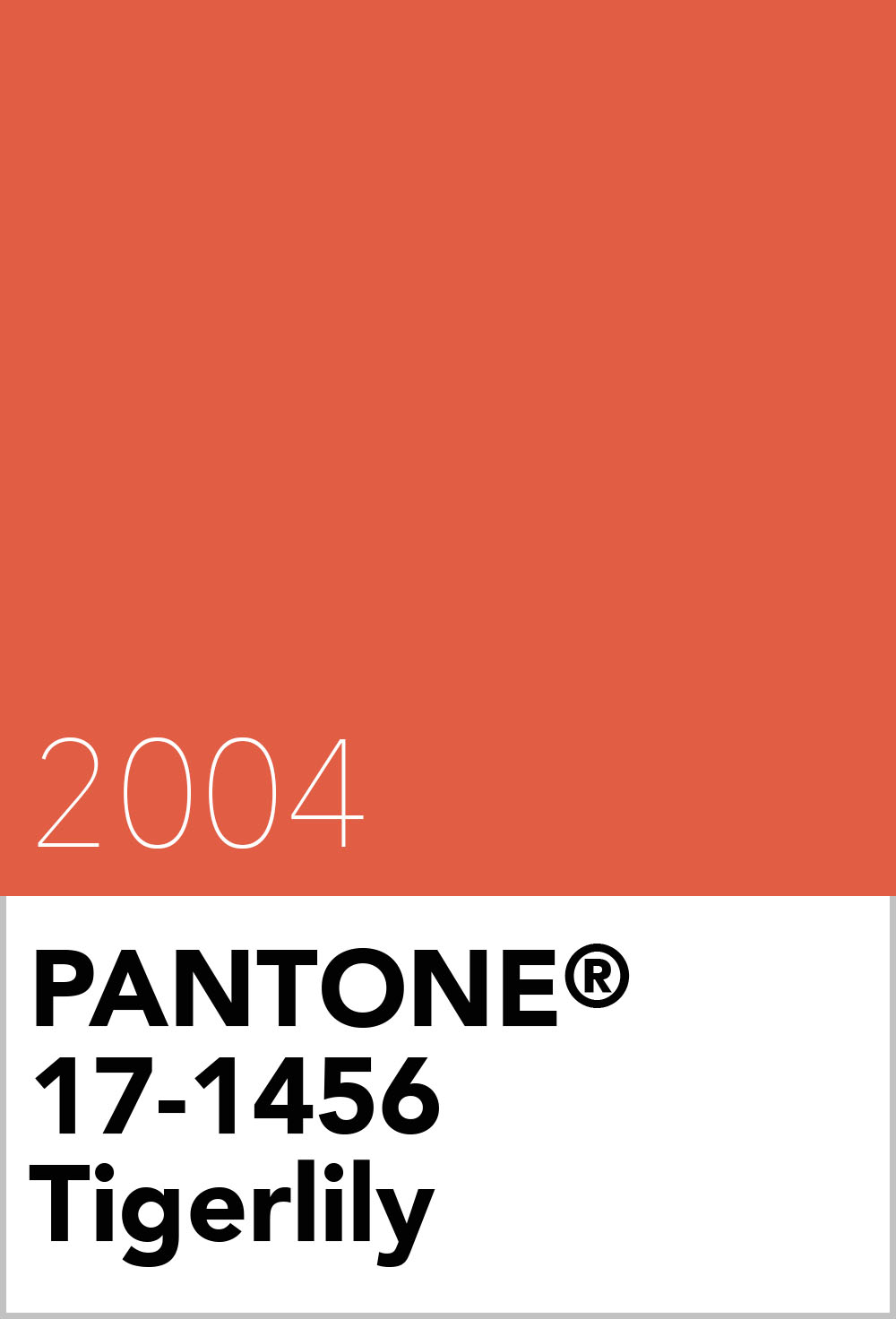 pantone colour of the year 2004