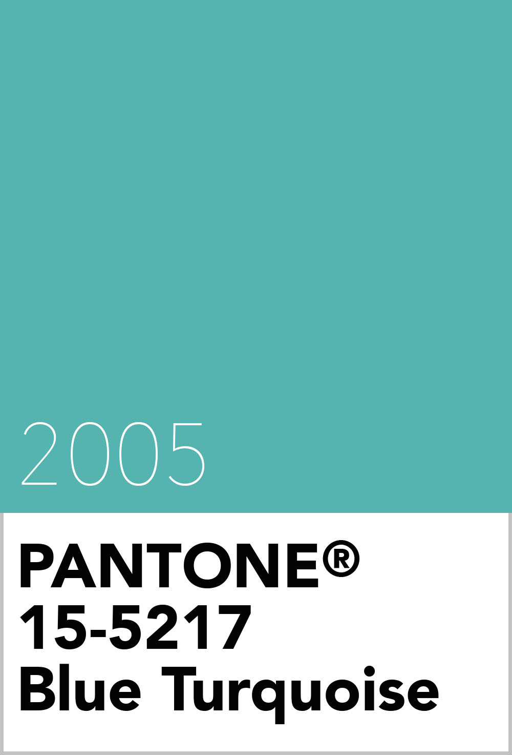 pantone colour of the year 2005