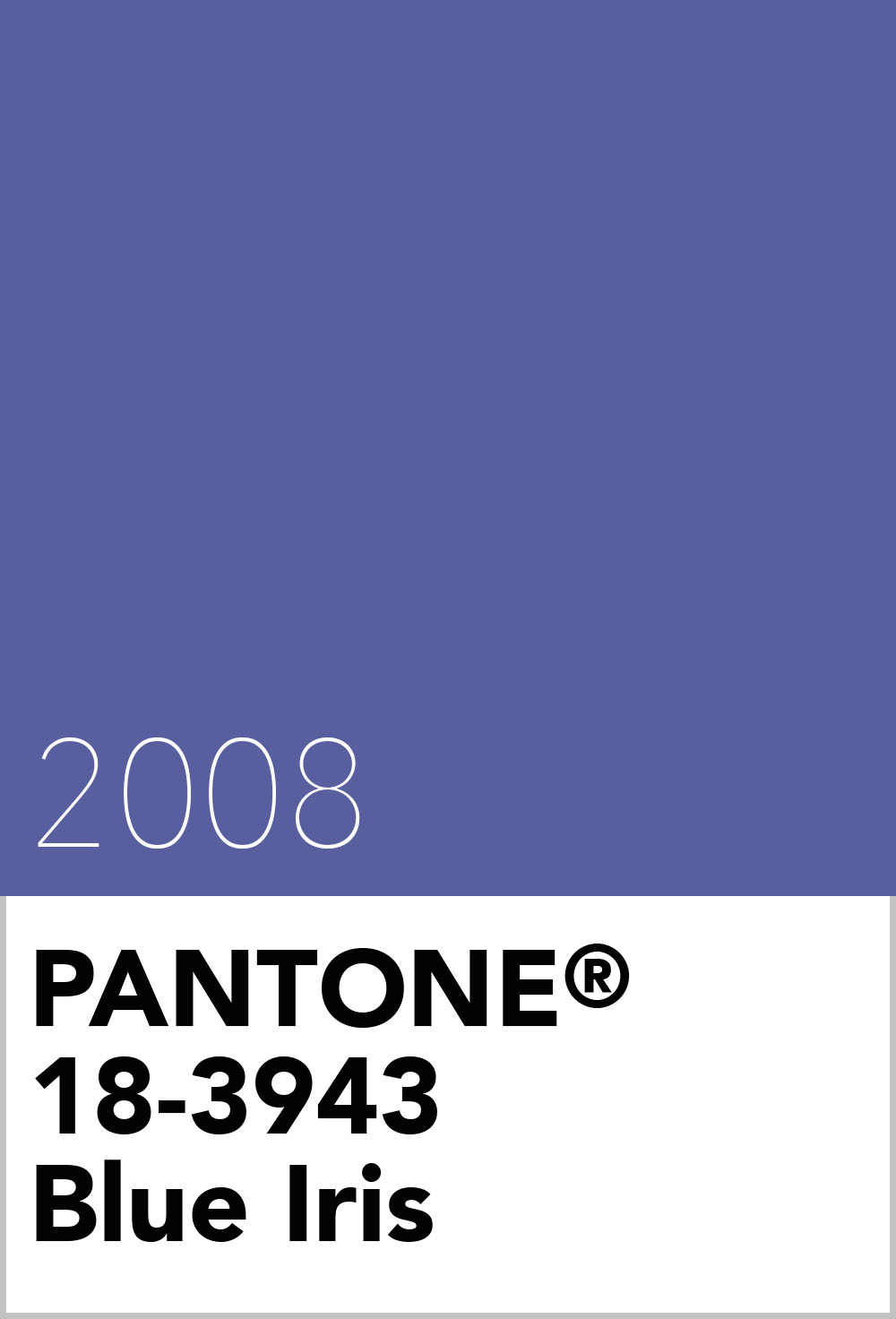 pantone colour of the year 2008