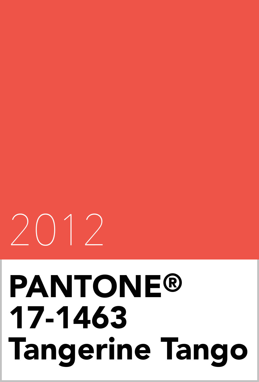 pantone colour of the year 2012